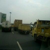 Photo taken at Jalan Tol Jakarta - Cikampek by Ade S. on 6/1/2012