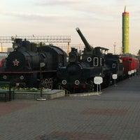 Снимок сделан в Центральный музей Октябрьской железной дороги пользователем Alexey P. 7/6/2012