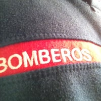 Photo taken at Parque de Bomberos by Abraham N. on 4/12/2012