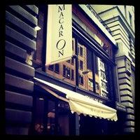 Photo taken at Macaron Café by Rachael A. on 5/4/2012