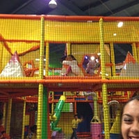 Photo taken at Fun Central by Carlos A. on 9/1/2012