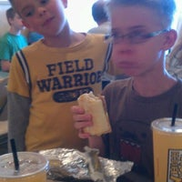 Photo taken at Which Wich? Superior Sandwiches by Marc V. on 3/24/2012