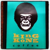 Photo taken at King Kong Coffee by Andrea M. on 4/29/2012