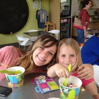 Photo taken at Menchie's Frozen Yogurt - Sweet Apple Village by Gabby D. on 4/5/2012