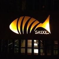Photo taken at Skool Restaurant by David H. on 2/20/2012