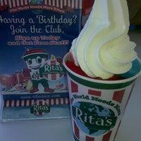 Photo taken at Rita's Italian Ice & Custard by Kimberly S. on 5/13/2012