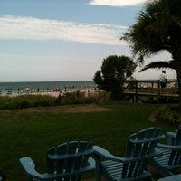 Photo taken at Bummz Beach Cafe by Brenda H. on 7/28/2012