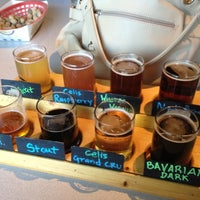 Photo taken at Michigan Brewing Company by Becca G. on 4/21/2012