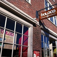 Photo taken at Boloco by Paul H. on 3/23/2012