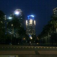 Photo taken at Parkir Selatan Senayan by bang a. on 7/20/2012