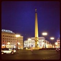 Снимок сделан в Площадь Восстания пользователем Алексей 7/8/2012