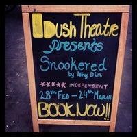 Photo taken at Bush Theatre by Muzz on 2/27/2012