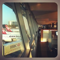 Photo taken at Qantas Club (T3) by Henry L. on 9/11/2012