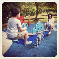 Photo taken at Play Area @ HortPark by Walter L. on 7/29/2012