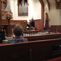 Photo taken at Forsyth United Methodist Church by Eric B. on 3/16/2012