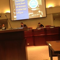 Photo taken at Arlington County Government by Bob B. on 4/24/2012