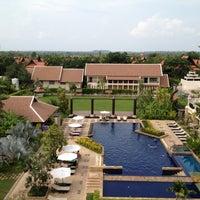 Photo taken at Angkor Miracle Resort & Spa by n W. on 5/1/2012