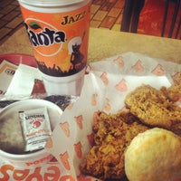 Photo taken at Popeyes Louisiana Kitchen by Bailey B. on 3/23/2012