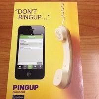 Photo taken at Pingup by BostonTweet on 9/10/2012