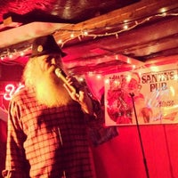 Photo taken at Santa's Pub by Laura C. on 5/26/2012