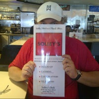 Photo taken at Solley's Restaurant & Deli by Brian H. on 7/14/2012