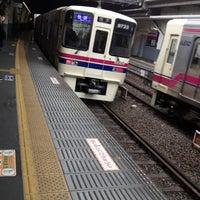 Photo taken at Keio Shimo-takaido Station (KO07) by Makoto O. on 4/3/2012