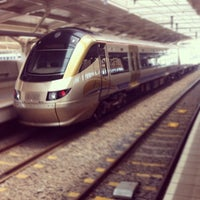 Photo taken at Gautrain OR Tambo International Airport Station by Steven I. on 2/16/2012