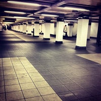 Photo taken at MTA Subway - Jay St/MetroTech (A/C/F/R) by Stinky Cat B. on 4/23/2012