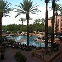 Photo taken at Fairmont Scottsdale Princess by lindsay b. on 8/21/2012