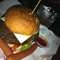 Photo taken at Burger Bakar Kaw Kaw by Julie T. on 4/13/2012