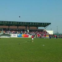 Photo taken at Centre Sportif de Walhain by Mike K. on 3/25/2012