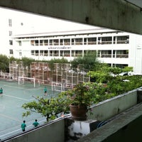 Photo taken at Taweethapisek School by SaTanG s. on 2/29/2012