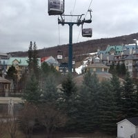 Photo taken at Marriott Mont Tremblant by Sergio V. on 4/4/2012