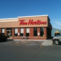 Photo taken at Tim Hortons by Crystal Y. on 4/3/2012