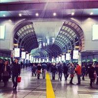 Photo taken at Shinagawa Station by Yuka I. on 3/10/2012