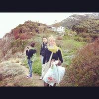Photo taken at Spiaggia del Cotoncello by Francesca C. on 4/10/2012