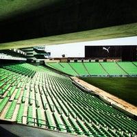 Photo taken at Territorio Santos Modelo Estadio by Enrique C. on 6/16/2012