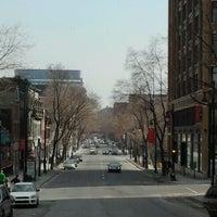 Photo taken at Boulevard Saint-Laurent by JulienF on 3/19/2012
