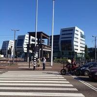 Photo taken at Voor de Bijen (gestapelde tafels) by Ad V. on 7/24/2012