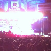 Photo taken at Dr. DY Patil Stadium (डा. डी. वाय. पाटील स्टेडीयम) by Viral G. on 5/26/2012