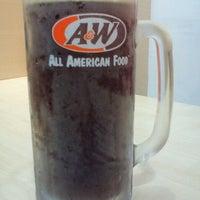 Photo taken at A&W by JanJan J. on 3/28/2012