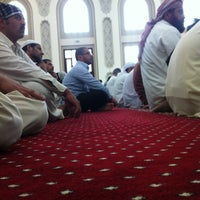 Photo taken at Shaikh Shakhbooth Ibn Sulthan - Musjid by Naseem M. on 2/24/2012