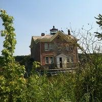 Photo taken at Saugerties Lighthouse by Joyce K. on 8/31/2012