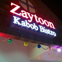 Photo taken at Zaytoon Kabob Bistro by Paras S. on 5/26/2012