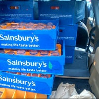 Photo taken at Sainsbury's by Rachael T. on 6/3/2012