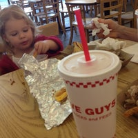 Photo taken at Five Guys by Gina R. on 5/27/2012