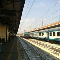 Photo taken at Verona Porta Nuova Railway Station by Matt K. on 7/25/2012
