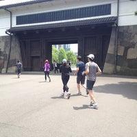 Photo taken at Sakuradamon Gate by Masayuki T. on 5/12/2012