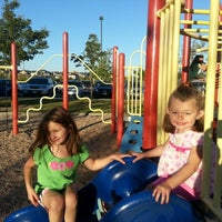 Photo taken at Sunset Park Playground by David C. on 8/25/2012