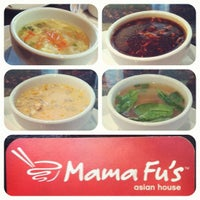 Photo taken at Mama Fu's Asian House by Mama Fu's on 2/13/2012